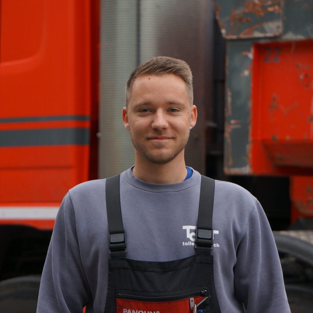Tony Heiz Baumaschinenmechaniker EFZ